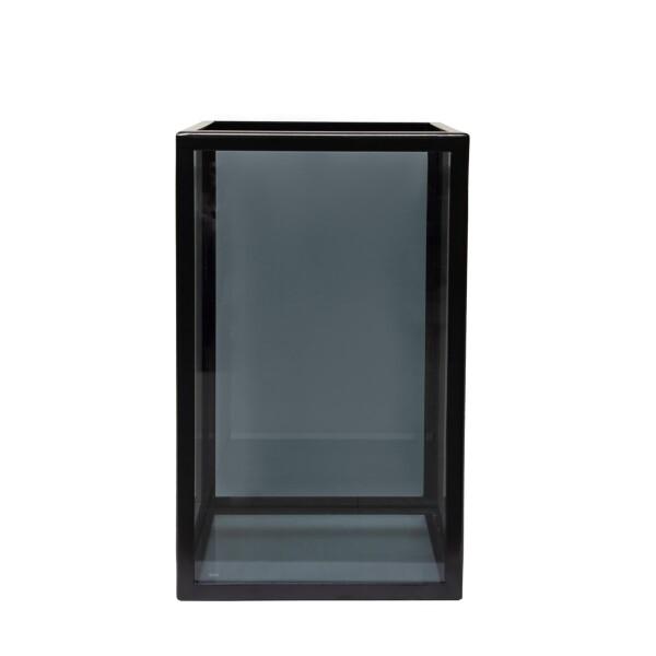 Küünlalühter Dark Glass M