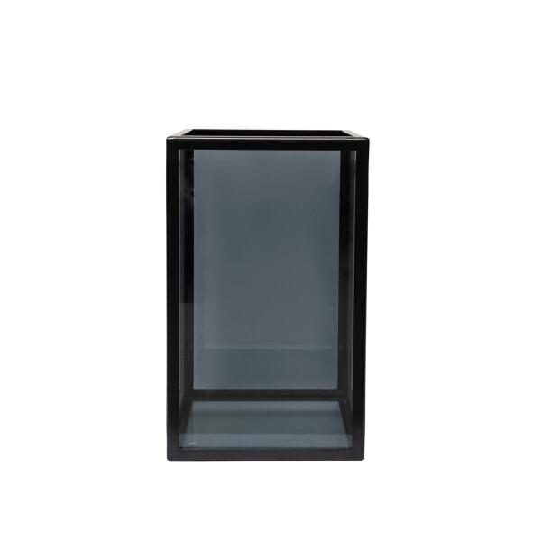 Küünlalühter Dark Glass S